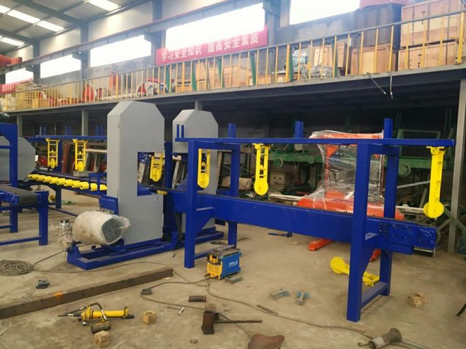Computer control twin blade vertical band sawmill for sale, Automatic saw equipment for log sawing
