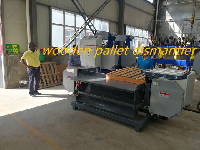 2019 New Designed Band Saw Dismantler Sawmill for wood pallet horizontal cutting machine